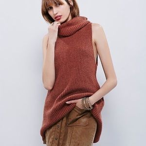 Free People • Need It Now Cowl Neck Wool Sweater